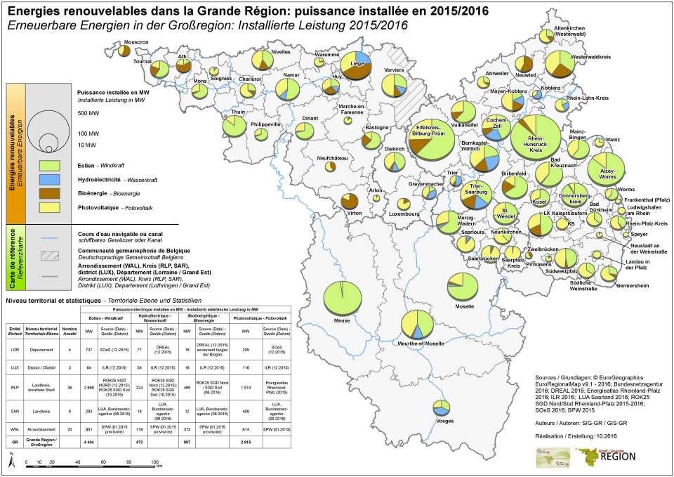 Erneuerbare Energien in der Großregion — Geographisches ...